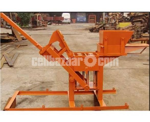 Block Brick machine QMR2 40 manual - 5/5