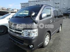 Toyota Hiace TRH200 Gray Color