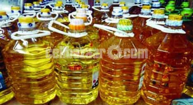 সরিষার তেল ৫ ও ৮ লিটার টিন ( MUSTARD OIL)। - 1/1
