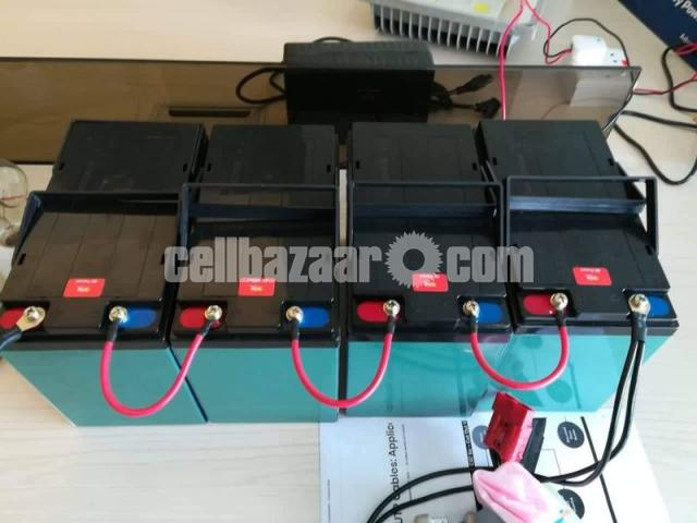 Cheetah Rickshaw Battery-Mainternance Free (48V 95Ah) - 1/4