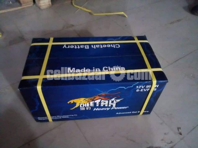 Cheetah Rickshaw Battery-Mainternance Free (48V 95Ah) - 2/4