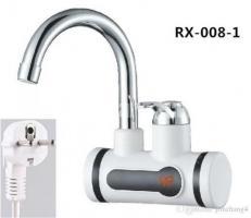 Electric Digital Hot water wall tap
