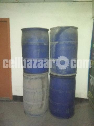 225 kg used oil drum - 1/2