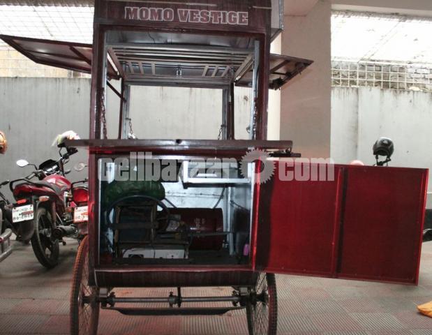 Food cart ( As like new ) - 5/5