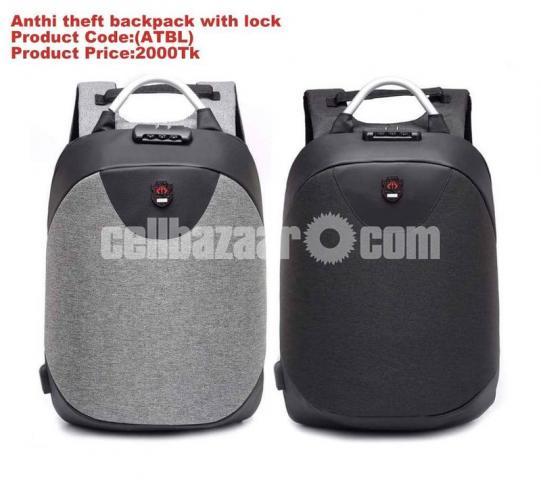Anthi theft Backpack - 1/2