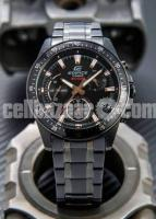WW0226 Original Casio Edifice Chronograph Chain Watch EFV-540DC-1BV