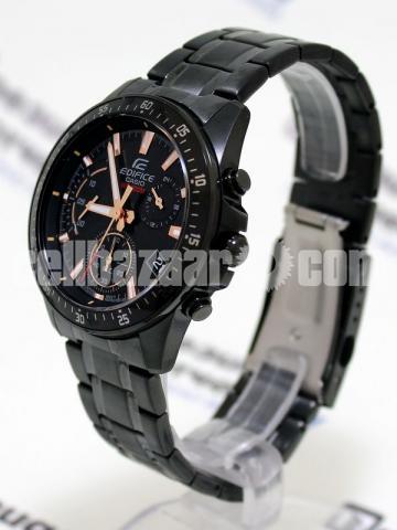 WW0226 Original Casio Edifice Chronograph Chain Watch EFV-540DC-1BV - 4/5