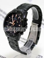 WW0226 Original Casio Edifice Chronograph Chain Watch EFV-540DC-1BV - Image 4/5