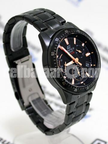 WW0226 Original Casio Edifice Chronograph Chain Watch EFV-540DC-1BV - 5/5
