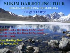 Dhaka-Darjeeling-Sikim 12 Days