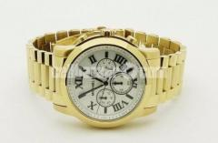 WW0229 Original Michael Kors Chronograph Chain Watch MK8345