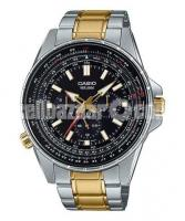 WW0231 Original Casio Enticer Sweep Second Stainless Steel Chain Watch