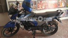 TVS STRYKER 125 ,Blue Black