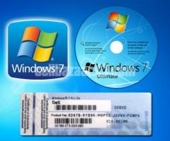 Windows 7 Ultimate Sp1 x86 & x64  Genuine Licence Key