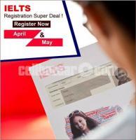 IELTS Exam Registration Super Deal!