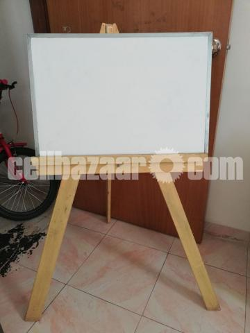 White Board with stand - 1/1