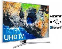 55 inch samsung MU6100 4K HDR TV