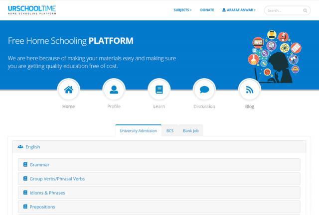 Home Schooling Platform - 1/1