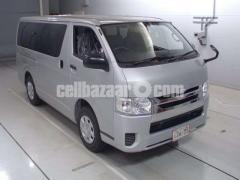 Toyota Hiace GL Pkg Silver Color 2014 Model