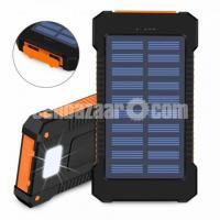 RoHS LED Light Waterproof Solar Electric Power Bank