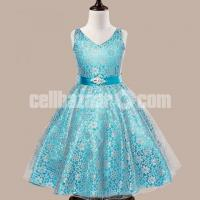 Party Dress-Sea Green for 6 Years Old Girls – 317-BT93I 4635 1A00-AKD1543-T93I 4635 1A00