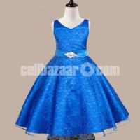 Party Dress-Blue for 7 Years Old Girls – 317-CT93I 4638 1A00-AKD1546-T93I 4638 1A00