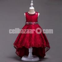 Party Dress- Red – 290-B-T93I 4758 1A00-AKD1727-T93I 4758 1A00