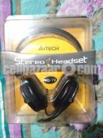 A4TECH HS-19 stereo headset