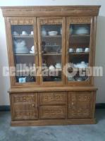 Segun wooden showcase