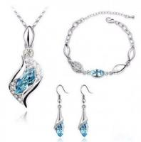 Austrian Elegant Crystal Jewelry set