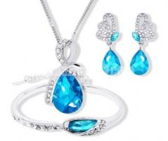 Austrian elegant Crystal Jewelry Sets