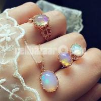 Super Quality Opal Jewelry Sets For Woman