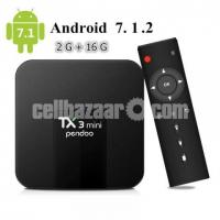 TX3 Mini Android 7.1 TV BOX 2GB/16GB 4K TV