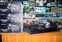 Godox Quicker 400D Professional Studio Strobe Light 3pcs Full Setup