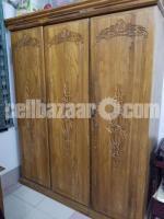 সেগুন কাঠের আলমারি / ওয়ারড্রব – Weardrobe / Closet made of Shegun