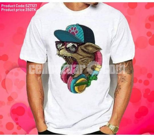 100% cotton cool t-shirts ?????????? - 3/5