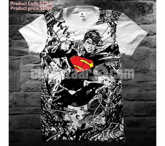 100% cotton cool t-shirts ?????????? - 1/1