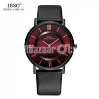 WW0290 Original IBSO Slim Leather Belt Watch 8281G