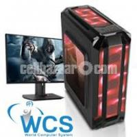 GAMING PC 3RD GEN CORE i5 4GB 500GB 17''LED