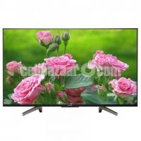 65 inch sony bravia X7500F 4K ANDROID UHD TV