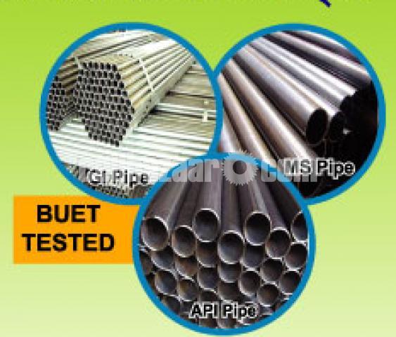 API 5L Gr.B/ASTM A53 Gr.B,GI & MS pipe of National Tubes Ltd - 1/5