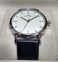 WW0328 Original IBSO Slim Leather Belt Watch 8200G