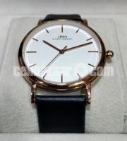 WW0329 Original IBSO Slim Leather Belt Watch 8200G