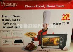 Prestige Electric Oven Fully Brand New