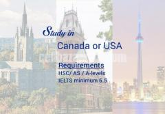 Study in Canada & USA