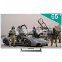 65 inch sony bravia X9000E 4K ULTRA HDR ANDROID TV