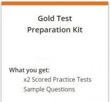 Official Gold Test Preparation Kit for PTE Academic