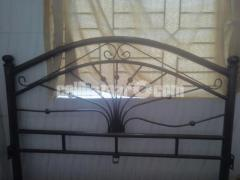 Iron rod Bed for quick sale