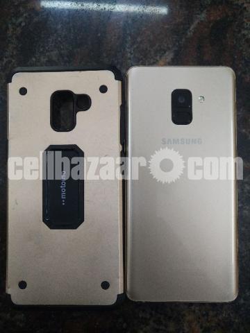 Samsung Galaxy A8 plus 6/64gb gold Urgently money needed - 2/5