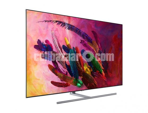 75 inch samsung  Q7F  4K SMART QLED TV - 2/3